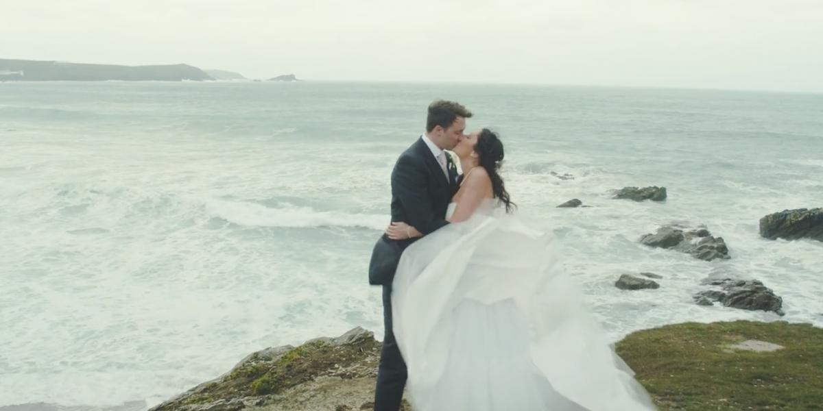 headland hotel wedding video
