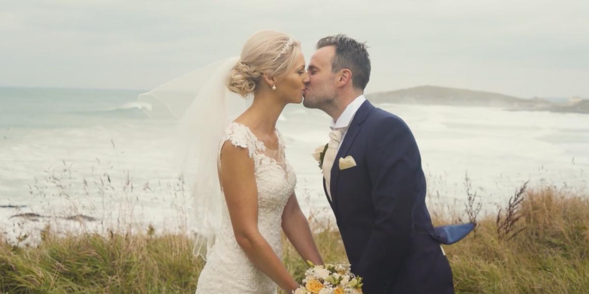 fistral beach hotel wedding video