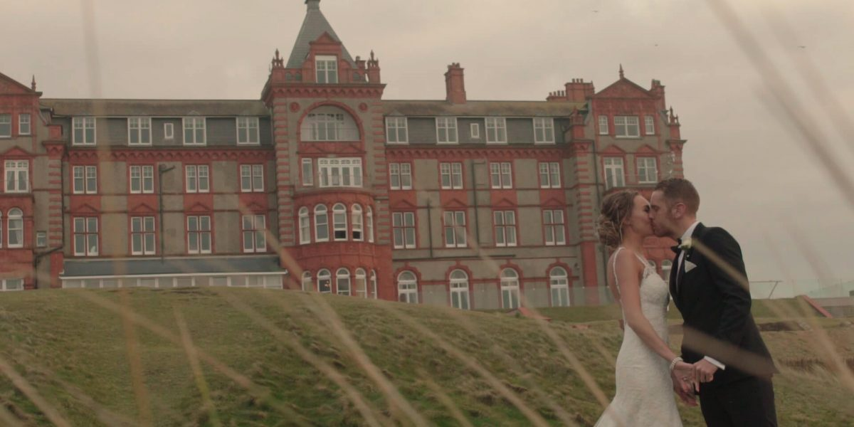 headlandhotelweddingvideo 1200x600 - Headland Hotel Wedding