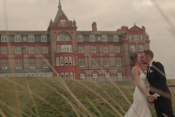 headlandhotelweddingvideo 600x400 - Headland Hotel Wedding