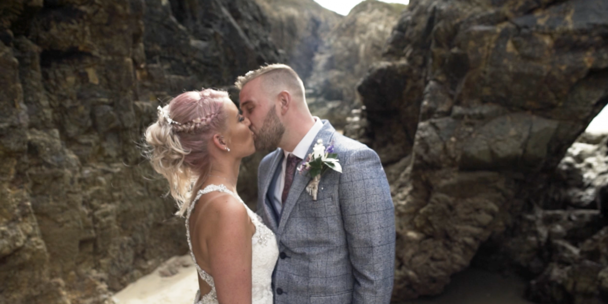 Beach Wedding Video at The Watering Hole Perranporth