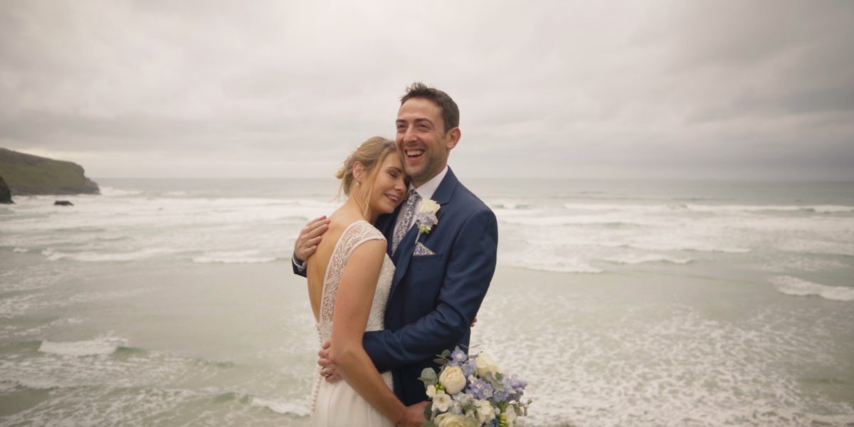 Bedruthan Steps wedding video
