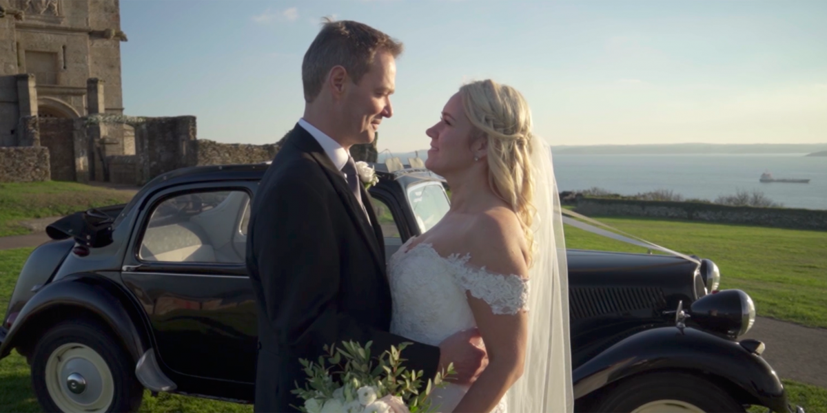 Pendennis Castle Wedding Video