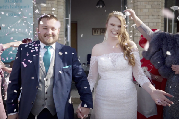cinematic wedding video in plymouth