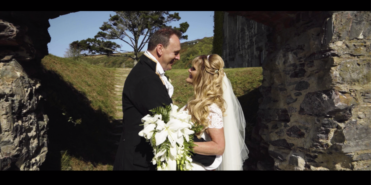 Wedding Film at Polhawn Fort