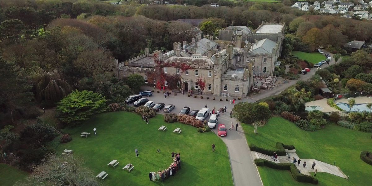 Tregenna Castle Wedding Film in St Ives