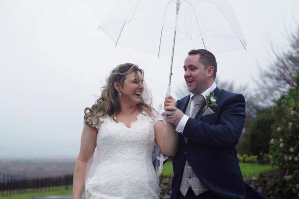 trevenna barns winter wedding video